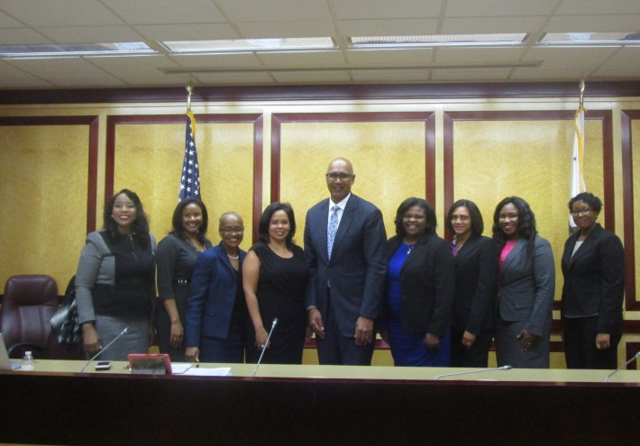 Assemblyman Holden and California Black Lawyers Association