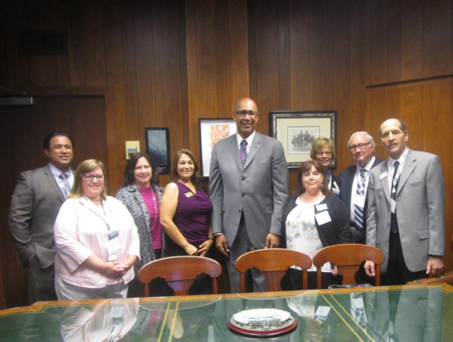 Assemblyman Holden and California School Board Association