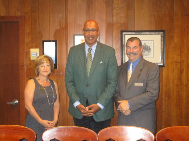 Assemblyman Holden with California School Employees Association