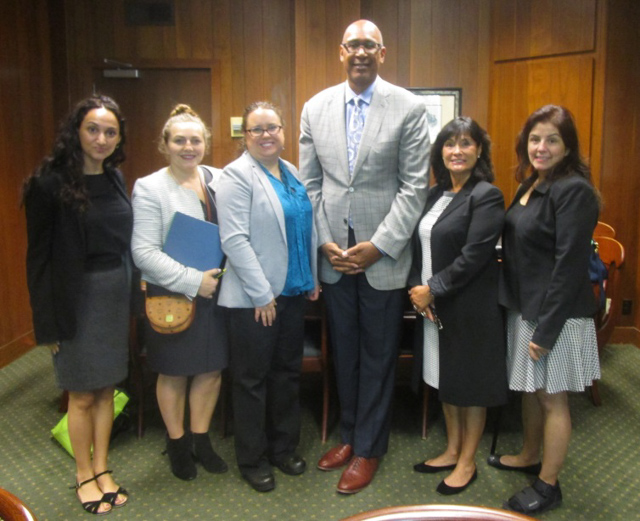 Assemblyman Holden with National Society of Jewish Women