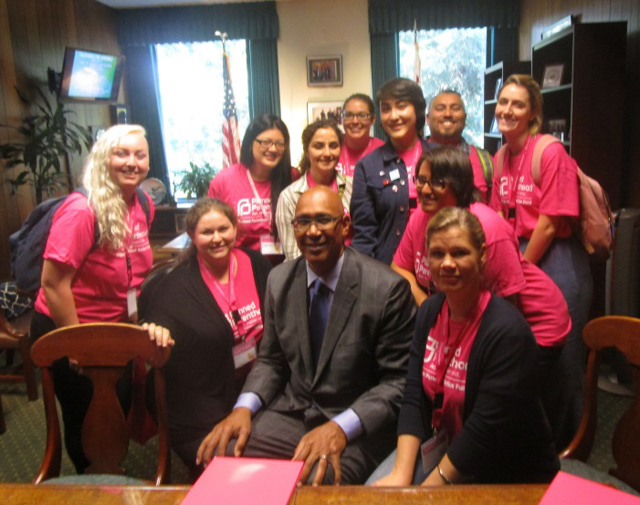 Assemblyman Holden with Planned Parenthood Pasadena