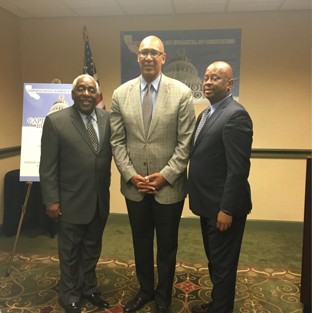 Assemblyman Holden with CA Black Chamber of Commerce
