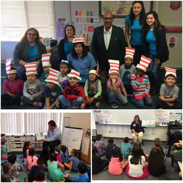 Assemblyman Holden and Read Across America