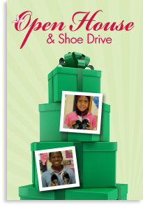 Open House and Shoe Drive
