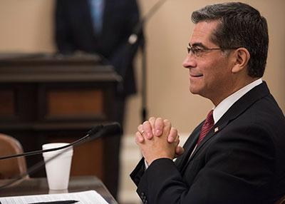 California Attorney General Xavier Becerra