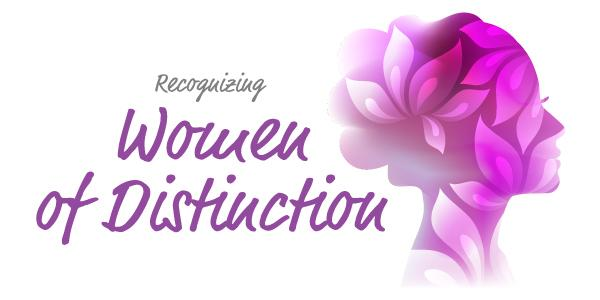 Recognizing Women of Distinction