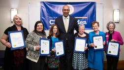 Asm. Holden with honorees